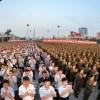 《화성-14》형시험발사성공을 경축・평양시군민련환대회 진행
