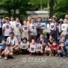 〈100일운동〉7명 분회위원들이 합심하여 준비한 강놀이/총련교또 사꾜지부 슈가꾸잉분회