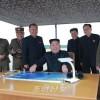 김정은원수님, 조선인민군 전략군의 중장거리전략탄도로케트발사훈련을 지도