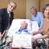 각지 100살 동포들을 축하/아이찌, 이와데에서