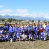 대풍작을 이룬 《학교사랑쌀》/나가노초중에서 가을걷이