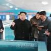 김정은원수님, 새로 건설된 순천메기공장을 현지지도