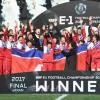 〈E-1 축구선수권대회・녀자〉조선팀, 일본에 2 대 0으로 승리하여 우승(상보)
