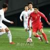〈E-1 축구선수권대회・남자〉조선팀, 남조선에 0-1로 패배