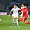 〈E-1 축구선수권대회・남자〉조선팀, 남조선에 0 대 1로 석패(상보)
