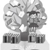 〈제40차 《꽃송이》 1등작품〉초급부 4학년 시 《도서실》