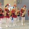 〈평창올림픽〉북측응원단, 숙소 직원들을 위해 공연