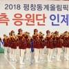 〈평창올림픽〉북측응원단, 린제군민에게 감사 전해