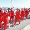〈평창올림픽〉북측 응원단, 강릉시내로 나들이