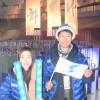 〈평창올림픽〉《인상깊었던 동포들과의 만남》/응원단에 참가한 신혼부부