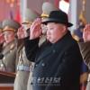 김정은원수님 참석밑에 조선인민군창건 70돐경축 열병식 성대히 거행