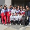 〈평창올림픽〉총련동포응원단이 북측선수들과 상봉