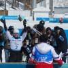 〈평창팔라림픽〉조선선수들,  거리스키 15km 좌식경경기에 출전