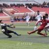 2018년 아시아축구련맹컵경기대회 9조경기 시작