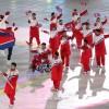 〈평창팔라림픽〉제12차 겨울철장애자올림픽경기대회개막/북남선수가 첫 성화주자