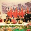 김정은원수님의 력사적인 중국방문을 환영하여 습근평총서기가 성대한 연회 마련