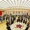 김정은원수님께서 중국공산당 중앙위원회 대외련락부장이 인솔하는 중국예술단의 조선방문을 환영하여 성대한 연회를 마련하시였다