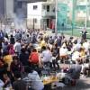 신입생 축하, 탁구대 기증/총련도꾜 아라까와지부관하 3개 분회 합동꽃놀이