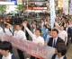 〈북남수뇌회담・각지에서 지지환영〉통일념원의 목소리 울려퍼져/도꾜 신쥬꾸에서 재일동포청년학생들의 모임