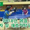 【동영상】2018년 봄철 장애자 및 애호가탁구경기