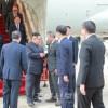 김정은원수님께서 싱가포르공화국에 도착하시였다