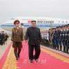김정은원수님께서 싱가포르공화국에서 진행된 조미수뇌상봉과 회담을 성과적으로 마치시고 조국에 돌아오시였다