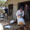 《피해동포 위해 전력 다해나갈것》/서일본폭우, 총련 오까야마가 지원활동