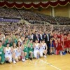 북남통일롱구경기, 2일째 친선경기로 북남대전