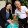 〈서일본폭우〉《동포 위하는 마음 절실히 느꼈다》/히로시마 대책위, 긴장상태 유지하며 지원활동 계속