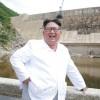 김정은원수님, 어랑천발전소건설장을 현지지도