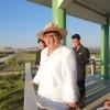 김정은원수님, 강원도양묘장을 현지지도