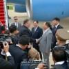 조미고위급회담에 참가할 미합중국대표단 평양 도착