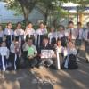 히로시마현취주악콩클에서 금상/거의 만점, 현대표로 선출