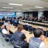 〈로동자통일축구〉북측대표들이 한국로총, 민주로총 사무실을 방문
