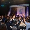〈로동자통일축구〉북남로동자 3단체 환영만찬/판문점선언리행을 위해 축배