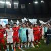 〈로동자통일축구〉3만여명의 통일함성속에서 경기진행, 월드컵경기장에서