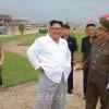 김정은원수님, 원산갈마해안관광지구건설장을 현지지도