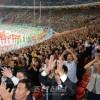 〈북남수뇌회담〉북남수뇌분들을 모시고 진행된 대집단체조와 예술공연