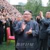 김정은원수님께서 창립 70돐을 맞이한 김책공업종합대학을 방문하시여 교원, 연구사들을 축하하시고 기념사진을 찍으시였다