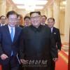 김정은원수님께서 남조선 문재인대통령의 특사대표단 성원들을 접견하시였다