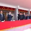 김정은원수님 참석밑에 조선민주주의인민공화국창건 70돐경축 열병식 및 평양시군중시위 성대히 거행