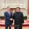 제5차 북남수뇌회담 진행/김정은원수님과 문재인대통령사이에 회담이 있었다