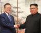 〈북남수뇌회담〉김정은원수님께서와 문재인대통령이 《9월평양공동선언》과 관련한 공동발표를 하시였다