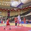 중국체육대표단이 조선을 친선방문