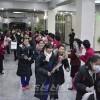재일조선학생소년예술단 평양 도착/제1진 서일본지방 학생들