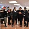 조선올림픽위원회대표단 일본도착