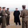 김정은원수님, 새로 개발한 첨단전술무기시험을 지도