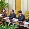 아시아축구련맹대표단이 조선방문/국가체육지도위원회 위원장과 면담