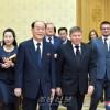 조선 중앙재판소 소장과 로씨야 최고재판소 소장이 회담