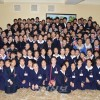 재일조선학생소년예술단 제2진/동일본지방 학생들 평양 도착